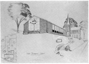 Architect Drawing of new church